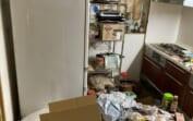 大阪市北区・お部屋の脱臭・除菌 特殊清掃 作業前